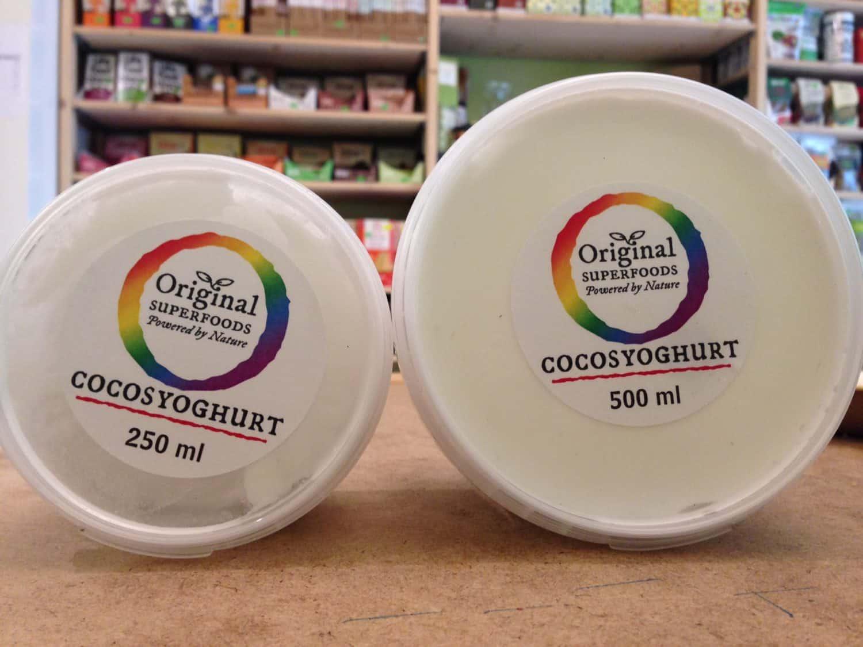 Veganistische cocosyoghurt