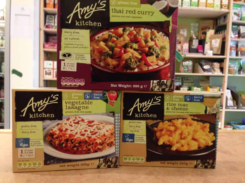 Amy's Kitchen: gluten-vrij, biologisch en veganistisch