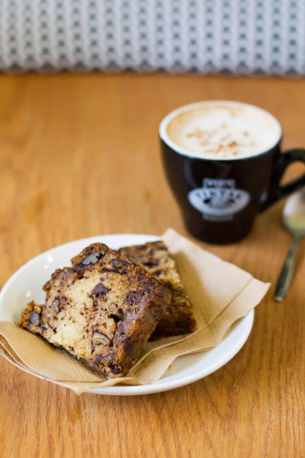 Vegabond Banana Bread And Coffee