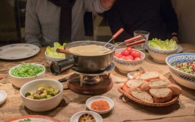 Christmas Special: Vegan Cheese Fondue