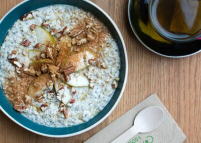 Vegabond Overnight Oats with Pear