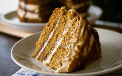 Seductive Salted Caramel Layer Cake